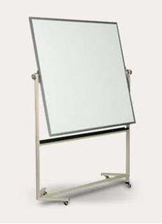 Image sur Tableau blanc sur roues réversible série 606