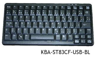 Image sur Mini Clavier Canadien Français ST83CF, KBA-ST83CF-USB-BL