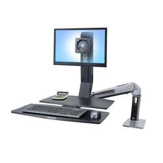 Image sur Ergotron Workfit-A, LD, clavier droit, avec surface, 24-317-026