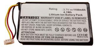 Image sur Batterie pour micro sans-fil Polycom PWM-10T