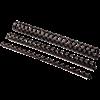 Image sur Anneaux de reliure en plastique, Noir