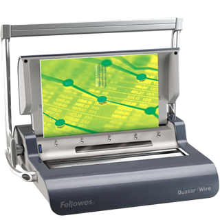 Image sur Perforelieuse Fellowes Quasar Wire, 5217401