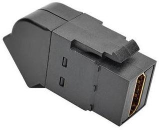 Connecteur HDMI F/F Keystone coudé