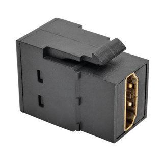 Connecteur HDMI F/F Keystone Noir