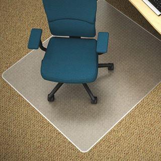 Image sur Sous chaise SUPERMAT RECTANGLE pour tapis poil moyen