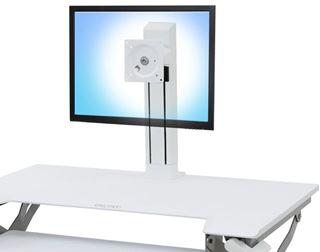 Image sur Support SIMPLE LD BLANC pour Workfit-T/TL, 97-935-062