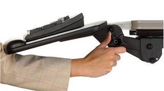 Image sur Tiroir à clavier ergonomique 3M, AKT60LE