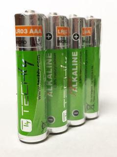 Batterie AAA Alcaline en paquet de 4