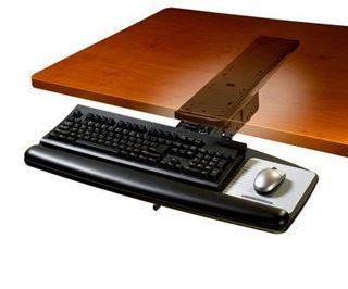 Image sur Tiroir à clavier ergonomique 3M, AKT70LE