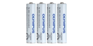 Batterie Olympus BR404 (paquet de 4)