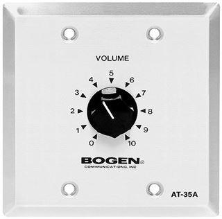 Image sur Contrôle de volume mono de 35 watts, 70 volts Bogen AT-35A