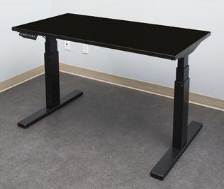 Image sur Table ELEVATION, fini NOIR, S405