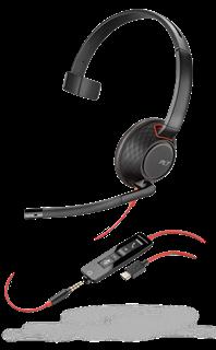 Image sur Plantronics Blackwire C5210 USB-C, 207587-01