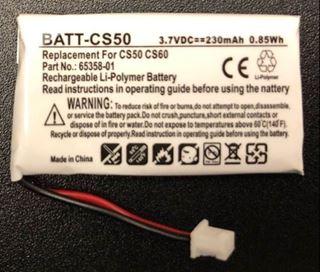 Image sur Batterie compatible Plantronics BATT-CS50 pour CS50, CS55 et CS60