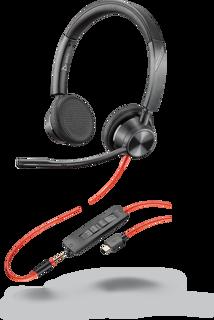 Image sur Plantronics Blackwire 3325-M USB-C, 214017-01