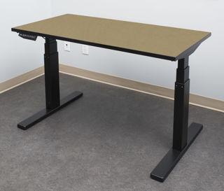 Image sur Table ELEVATION à RABAIS, fini Chambray Taupe, P402 de 24 x 48 pouces